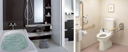 トイレや浴室のリフォーム